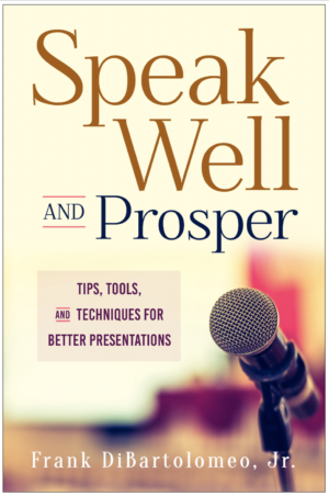 Speak Well and Prosper Book Cover